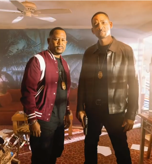Bad Boys for life pic with martin lawrence and will smith