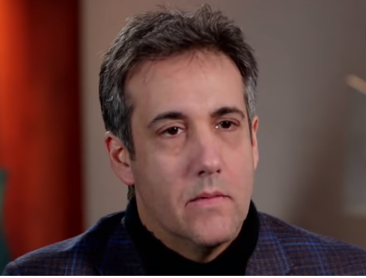 michael cohen in interview speaking about donald trump