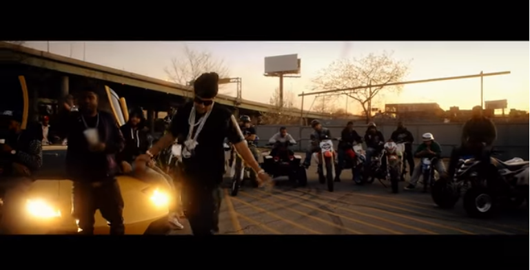french montana in music video ain't worried about nothin