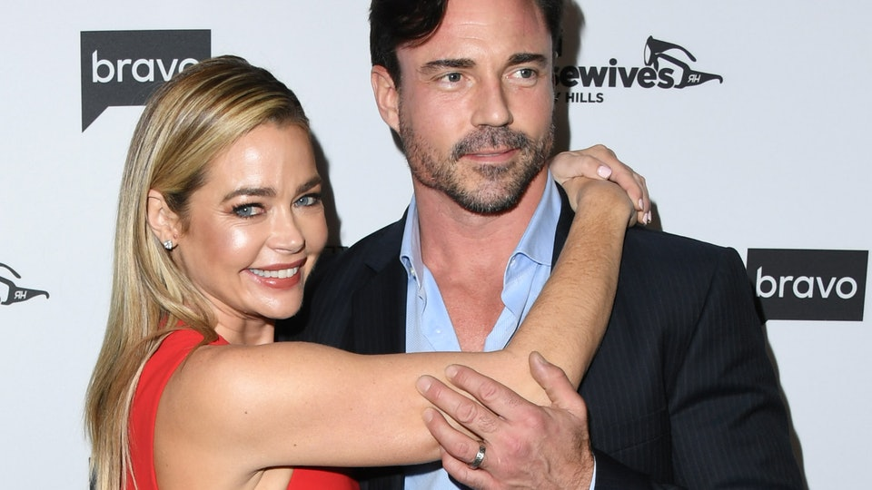 Denise Richards and her husband