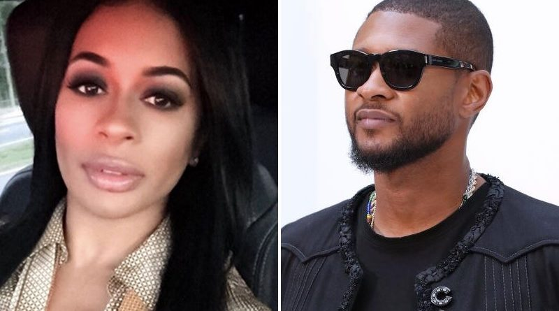 Usher and std accuser Laura Helm