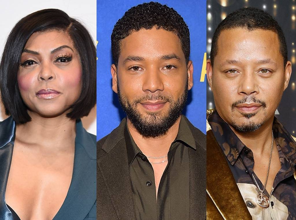 Taraji p henson, jussie-smollett-Terrence-Howard