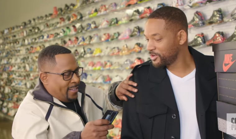 martin and will smith sneaker shopping