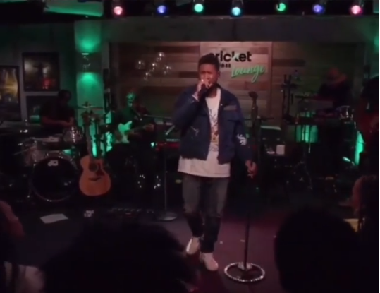 Usher singing new song for upcoming Confessions album