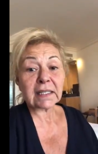 Roseanne Bar on Trump being first woman president