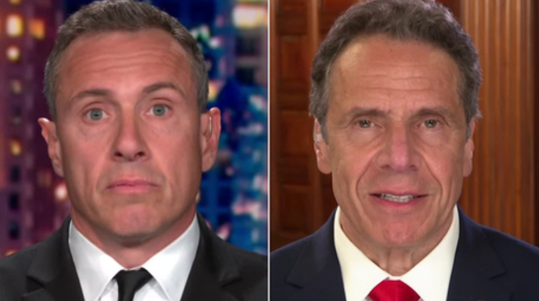 Chris Cuomo and governor brother